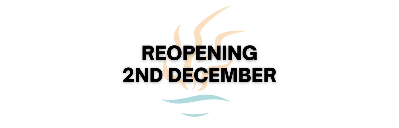 Guildford Spectrum Reopening 2nd December 2020