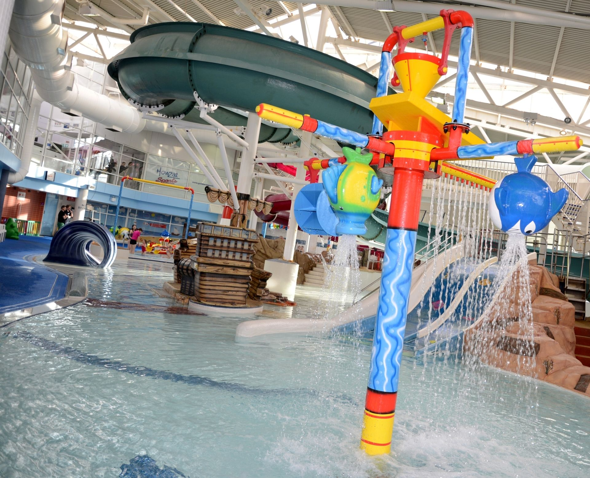 Swimming At Guildford Spectrum