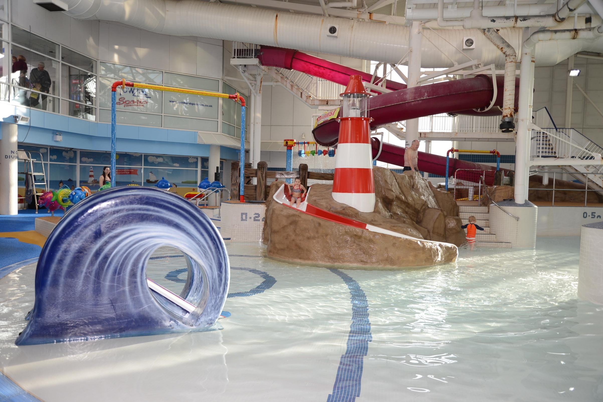 Leisure Pool Lighthouse Slide